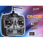 CopterX (CX-CT6C) 2.4GHz 6CH Transmitter with CX-CR6C Receiver