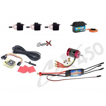 CopterX (CX450EPP-FBL-V3) 450 Flybarless Electronic Parts Package V3CopterX CX 450PRO V4 Parts