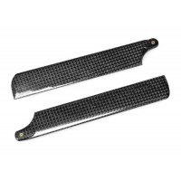 (DS-M-142C-02) Carbon Fiber Main Blades 142mm for Walkera 4G3