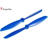 DragonSky (DS-P-1047-B) Multirotor 10*4.7 Clockwise and Counter Clockwise Propeller Set (Blue)