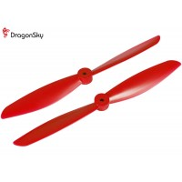 DragonSky (DS-P-1047-R) Multirotor 10*4.7 Clockwise and Counter Clockwise Propeller Set (Red)
