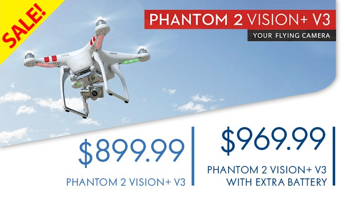 DJI Phantom 2 V+ V3 Sale