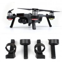 DJI SPARK Accessories Landing Gear Leg Height Extender Kit Protection Accessories for Dji Spark - Black