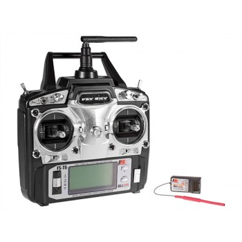 FLYSKY (FS-T6-RB6) 6CH 2.4GHz Air Transmitter with RB6 ReceiverTransmitter for Planes