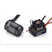 Hobbywing COMBO-MAX10-3652SL-4000KV EZRUN MAX10 60A ESC + EZRUN 3652 G2 4000KV Brushless Motor for 1/10 Car and Truck