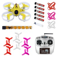 KINGKONG TINY7 RTF Ready to Fly 75mm Micro FPV Quadcopter With 720 Brushed Motors Based on F3 Brush Flight Controller 800TVL