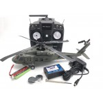Nine Eagles 319A B.Hawk 60 3 Axis Gyro 6CH 4-Blade Helicopter with J6 transmitter - 2.4GHz