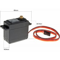 Power HD (HD-1501MG) Standard High Torque Metal Gear Analog Servo 60G 17KG 0.14sec