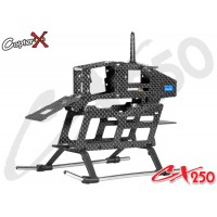 CopterX (CX250-03-00) Carbon Fiber Main Frame Set