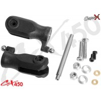 CopterX (CX450-01-33) Plastic Main Blade Holder Set