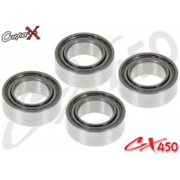 CopterX (CX450-09-05) Bearings(MR74ZZ) 4x7x2.5mm