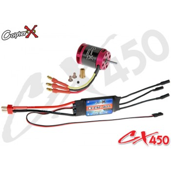 CopterX (CX450-10-07) 430XL Brushless Motor & 40A Brushless ESC with BECCopterX CX 450PRO V4 Parts