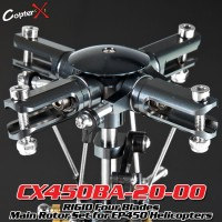 CopterX (CX450BA-20-00) RIGID Four Blades Main Rotor Set for 450 Heli