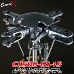 CopterX (CX500-01-15) 3D FLOATING Four Blades Main Rotor Set for 500 Heli
