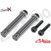 CopterX (CX600BA-01-31) 4 Blades Rotor Head Feathering Shaft
