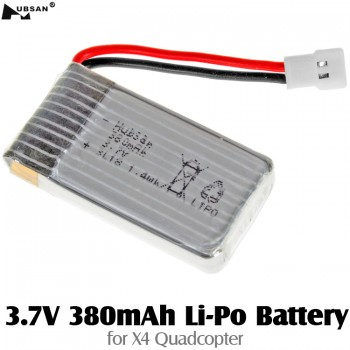 HUBSAN (HS-H107-A24) 3.7V 380mAh Li-Po Battery for X4 Quadcopter