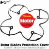 HUBSAN (HS-H107-A20) Rotor Blades Protection Cover for H107C X4 LED Version with Video Camera (Black)HUBSAN H107 Parts