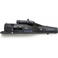 Nine Eagles (NE400305) Fuselage Set (Left, Black)