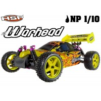 HSP Racing (94106) WARHEAD 1/10th Scale Nitro Off-Road Buggy-Two Speed RTR
