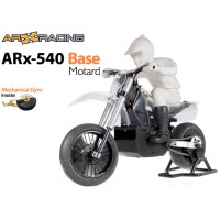 AR Racing (AR-ARX002) ARX 540 BASE 1/4th Scale Electric Motorbike Kit with Mechanical Gyro - Motard