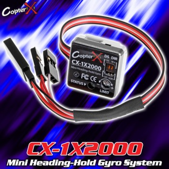 CopterX (CX-1X2000) Mini Heading-Hold Gyro SystemCopterX Electronic Parts
