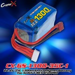 CopterX (CX-6S-1300-35C-1) 22.2V 35C 1300mAh Li-Polymer Battery for ALIGN T-REX 450 PRO