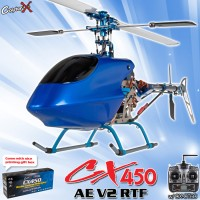 CopterX CX 450AE V2 2.4GHz RTF (Cartoned)
