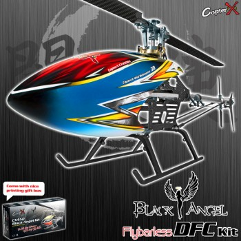 CopterX CX450 Black Angel DFC Flybarless KitCopterX Helicopters