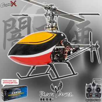 CopterX CX 450 Black Angel 2.4GHz RTF (Cartoned)CopterX Helicopters