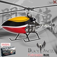 CopterX CX450BAMB4 Black Angel Four-blades Helicopter Kit