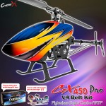 CopterX CX 450PRO V4 Flybarless Belt Version Super Combo ARTF