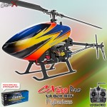 CopterX CX 450PRO V4 Flybarless Belt Version 2.4GHz RTF (Cartoned)