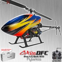 CopterX CX 450PRO V5 DFC Flybarless Belt Version 2.4GHz RTF