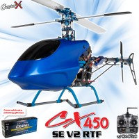 CopterX CX 450SE V2 2.4GHz RTF (Cartoned)
