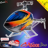 CopterX CX 600E Pro Flybarless Torque Tube Version Helicopter Kit