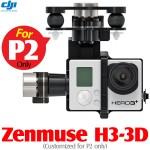 DJI Zenmuse H3-3D 3-axis Brushless Camera Gimbal for GoPro (Customized for P2 only)