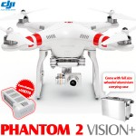 DJI Phantom 2 Vision+ with Wheeled Aluminium Carrying Case
