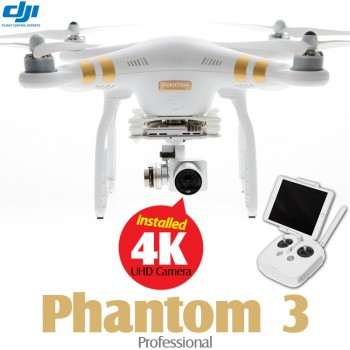 DJI Phantom 3 Professional with UHD 4K Camera Quadcopter RTF - 2.4GHz