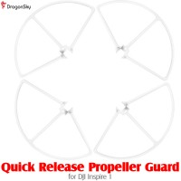 DragonSky (DS-INSPIRE1-PG-QR-W) Quick Release Propeller Guard for DJI Inspire 1 (White)