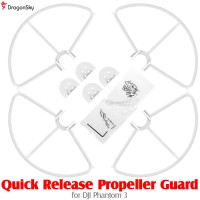DragonSky (DS-P3-PG-QR-W) Quick Release Propeller Guard for DJI Phantom 3 (White)