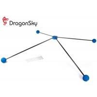 DragonSky (DS-TRAINING-KIT-90SIZE) Training Kit for 90-Size Nitro Helicopter