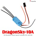 DragonSky (DragonSky-10A) 10A Brushless Motor Speed Controller ESC with BEC