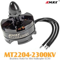 EMAX (MT2204-2300KV) Brushless Motor for Mini Multicopter (CCW)