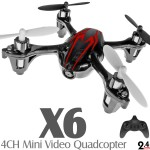 X6 4CH Mini Video Quadcopter RTF (Black Red, Mode 2)