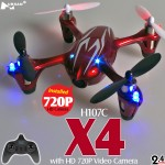 Hubsan H107C X4 720P HD Camera Quadcopter (Red Silver, Mode1)