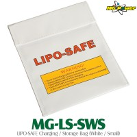 MG-Power (MG-LS-SWS) LIPO-SAFE Charging / Storage Bag (White / Small)