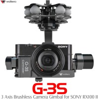 WALKERA G-3S 3 Axis Brushless Camera Gimbal for SONY RX100 II