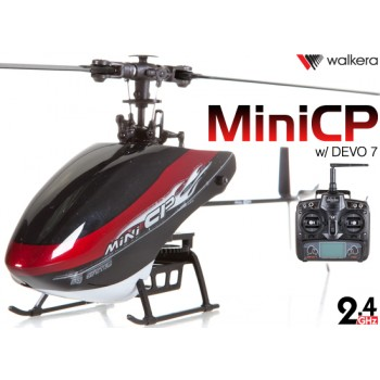 WALKERA Mini CP 6CH Flybarless Telemetry Helicopter with DEVO 6S,7,8S,10 or 12S Transmitter RTF - 2.4GHzWalkera Helicopters