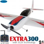 Skyartec (MNEX3X-01) Extra 300 EPO 3G3X Flight-Stabilization System 3CH Brushless Airplane ARTF - 2.4GHz