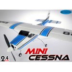 Skyartec (MNCE01-1-B-M1) Mini Cessna 4CH Brushless Airplane RTF (Blue, Mode1)- 2.4GHz